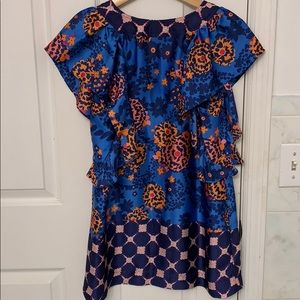 Anthropologie Tops - NWOT Anthropologie Fei floral print top size Med
